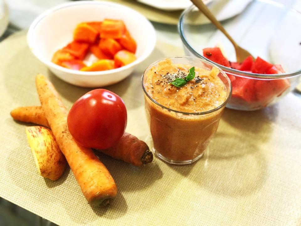 The Orange Detox – Raw Diet: Day 2