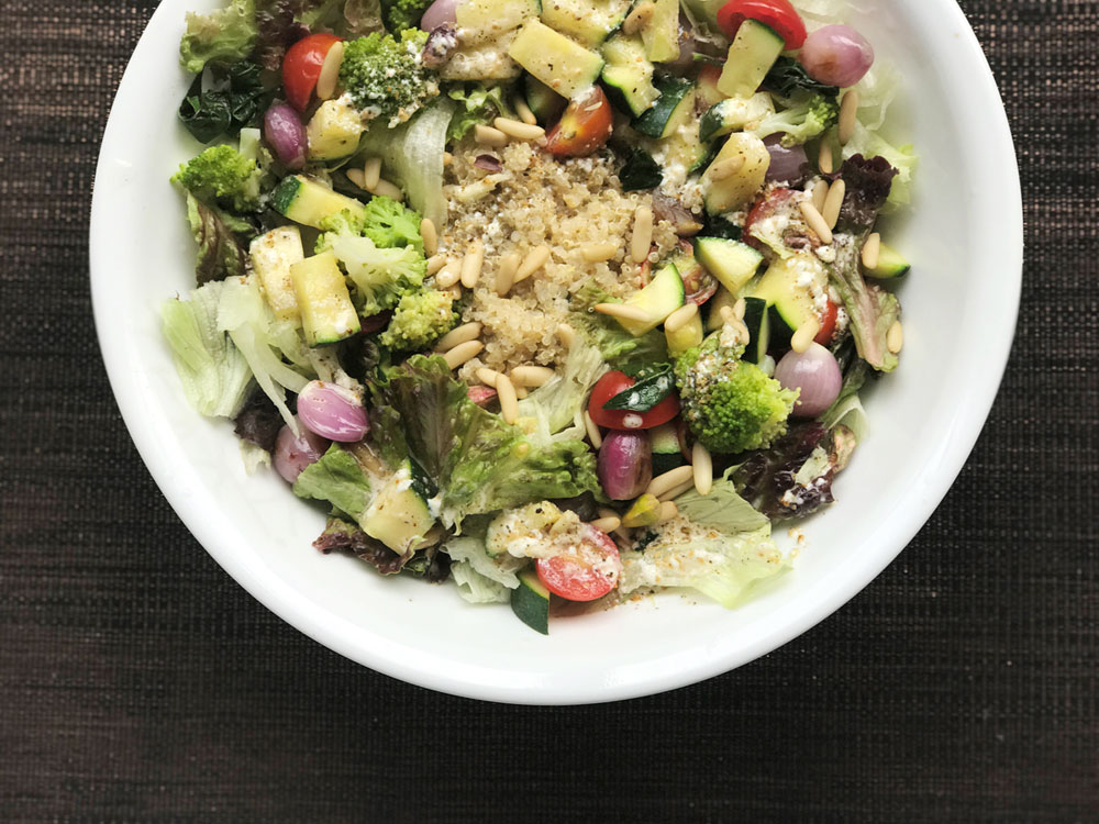 Quinoa Salad: In the mood for salubrity!