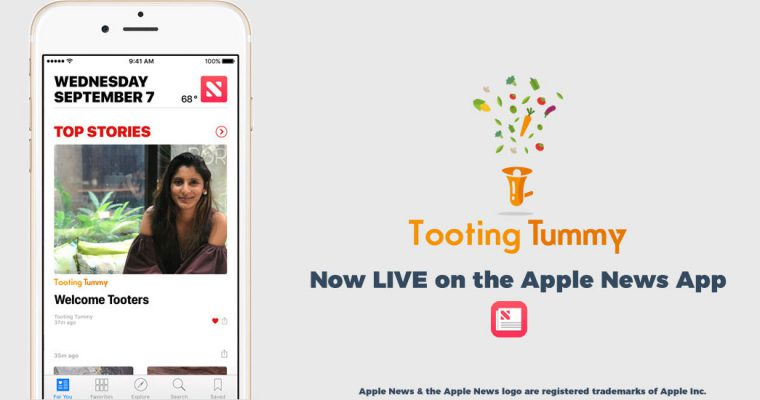 Tooting Tummy Channel LIVE on Apple News